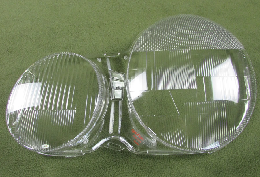 Image 5 - For 02 08 Mercedes Benz W210 E200 E240 E260 E280 Headlight Cover Transparent Shell Headlamp Shell Lampshade Glass lens 2PCS-in Shell from Automobiles & Motorcycles