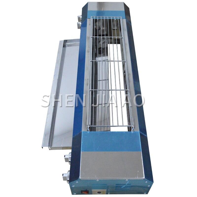 Gril de gaz liquéfié de gaz naturel de gaz sans fumée d'acier inoxydable de KE-104A - 6
