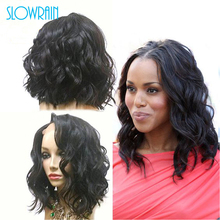 Fashion Brazilian Virgin Hair Wavy Short Bob Full Lace Human Hair Wig Black Women Bob Cut Wave Wig Natural Wave Lace Front Wig