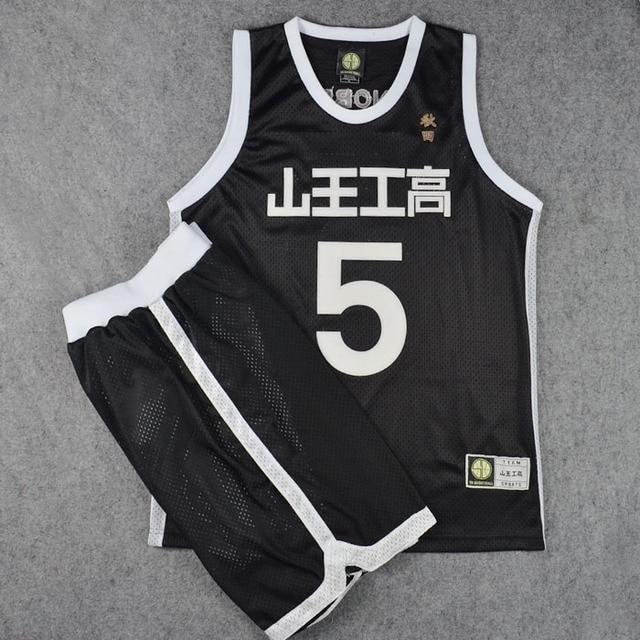 f3da44a1d Slam Dunk Akita SANNOH Basketball Jersey and Shorts Athletic Apparel  Cosplay Costume School Basketball Team Uniform Set  5 Nobe