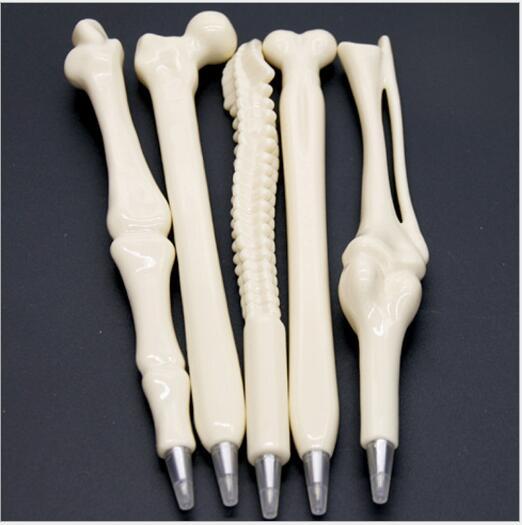 10pcs/set School Pen Writing Supplies Bone Shape Ballpoint Pen Wholesale New Creative...