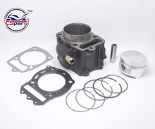 72MM CYLINDER PISTON RING GASKET KIT GY6 CN250 CFmoto 250 CF250 CH250 250CC ATV QUAD SCOOTER