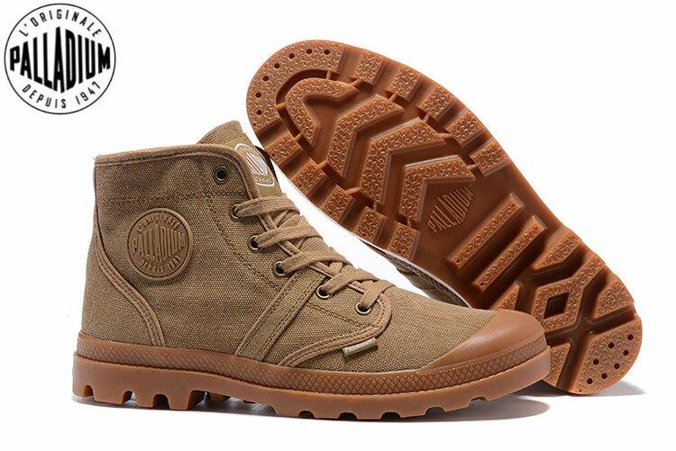 Calçado Alta 39 Sapatas Tênis 45 Oi Casuais Qualidade Paládio Pampa De Tamanho Boots 1 Ankle Acima Lona Homens Trabalho Ata Sapatos Casual Walking qp8fxw