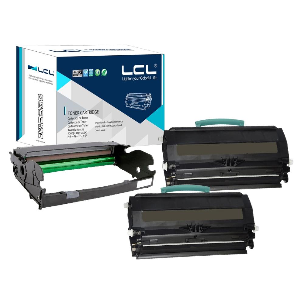 LCL E260A11A E260A21A E260X22G (3-Pack Schwarz) Tonerpatrone Kompatibel für Lexmark E260/E360 E460/E462