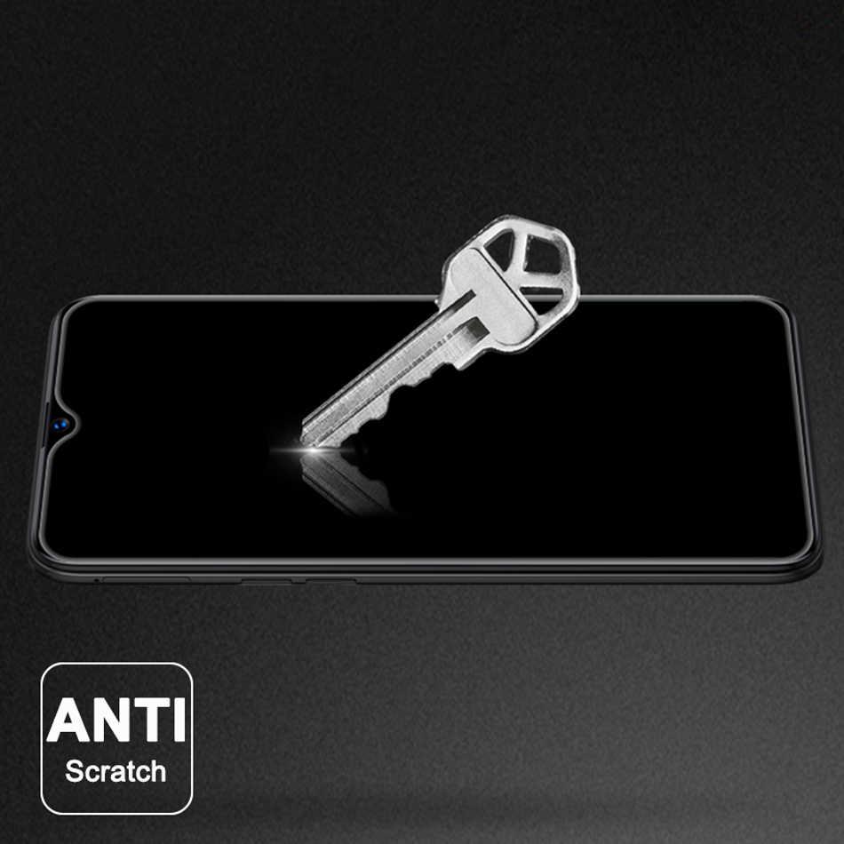 保護ケース Oppo Realme 3 Pro のスクリーンプロテクターフル強化ガラスフィルム Realme 3 A9X A9 F11 AX5S a7N リノ Lite