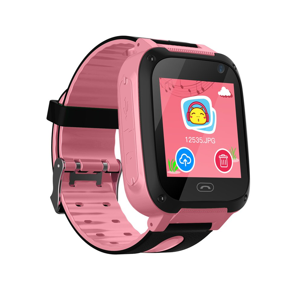 S4 Kids Safe Smart Watch Smart Bracelet with Flashlight Remote Camera Touch Screen SOS Phone Call SIM Children WatchS4 Kids Safe Smart Watch Smart Bracelet with Flashlight Remote Camera Touch Screen SOS Phone Call SIM Children Watch