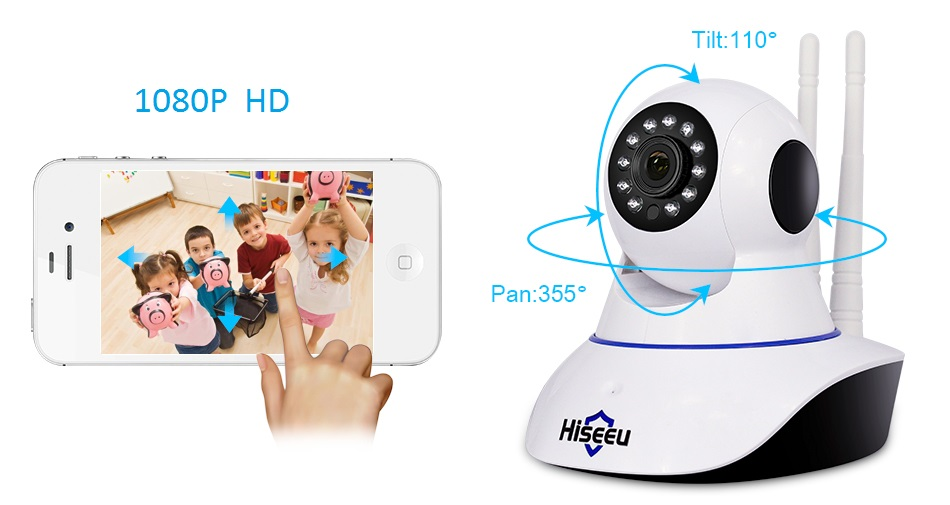 1080P IP WIFI Camera Wireless FH1C IP Security Camera Surveillance Home Camera Wifi Night Vision CCTV Camera Baby Monitor remax 2 in 1 micro usb cable 1m fast charging