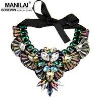 2014 Popular Worldwide Luxury Crystal Necklace New Owl Design Statement Collar Necklaces Pendants Women Evening Dress