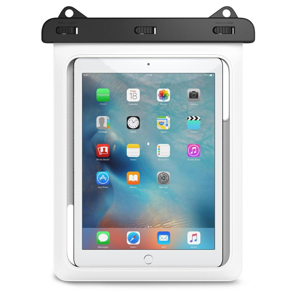 lowest price cfc22 83dc2 US $13.59 15% OFF|Universal Waterproof Case, MoKo Dry Bag Pouch for New  iPad 9.7 2017, iPad Pro 9.7, iPad Air 2, iPad 4/3/2 and More Up to 10  Inch-in ...
