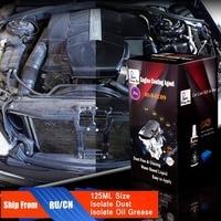 Estrela em ascensão RS-B-CC09 Vidros de Produtos para Isolar a Poeira e As Manchas Do Motor Do Motor Do Carro Agente de Revestimento 125 ml Kit para Profissionais