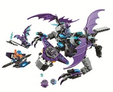 BELA Nexo Cavaleiros Blocos Define o Heligoyle Kits Bricks Modelo Clássico Brinquedos Dos Miúdos Maravilha Compatível Legoe Nexo