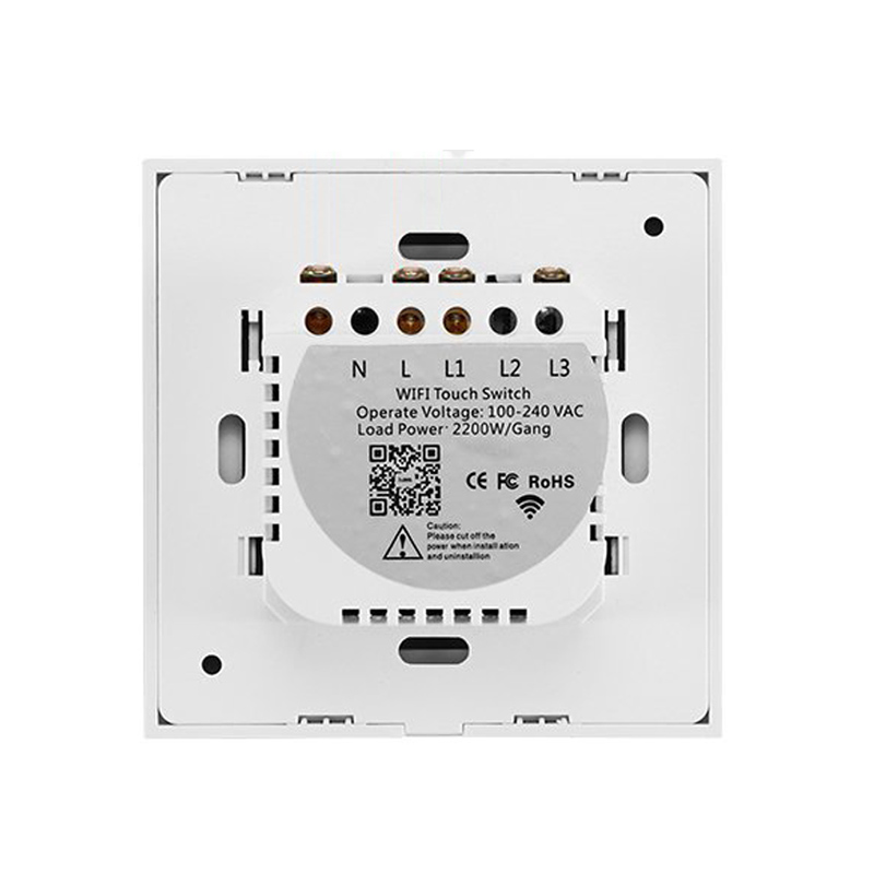 Wifi Smart RF/APP Remote/Touch Control Support ALEXA/Google Timing Wall Switch with Small luminous