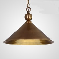European copper chandelier brass lamp vintage living entrance customs village single head corridor channel lights ZA62 ZL157