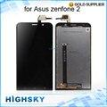 """Горячие Испытания Экран Для Asus Zenfone 2 ЖК ZE551ML Дисплей С Сенсорным Дигитайзер Полной Сборки 5.5 """"черный 1 Шт. Бесплатная Доставка"""