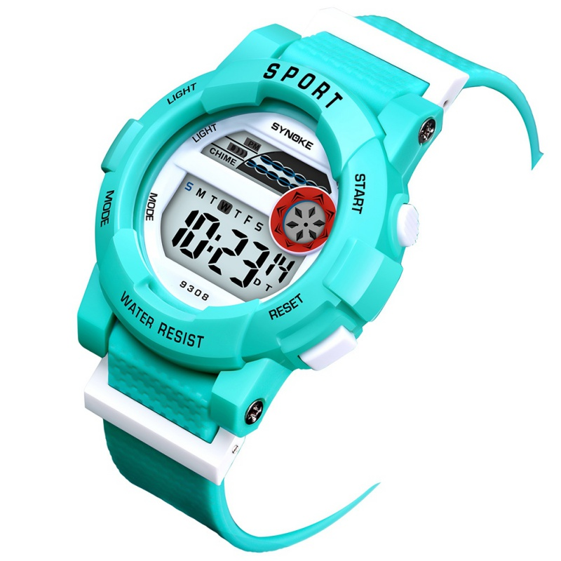 Child Waterproof Watch Boys Girl Digital LED Sports Kids Clock With Date Wristwatches