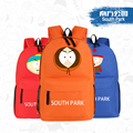 2015 New Funny Anime South Park Eric Printing Backpack Canvas School Bags for Teenagers Men Women Leisure Rucksack