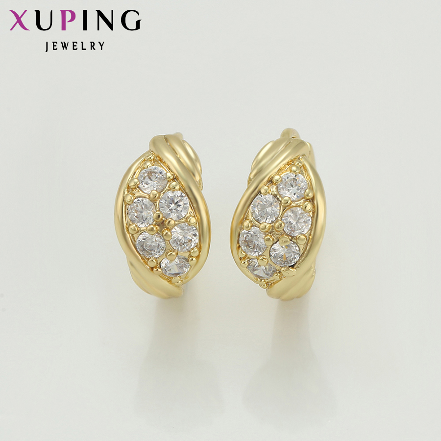 Xuping Fashion Earring Promosi Gaya Baru Perhiasan Anting Warna - Perhiasan fesyen - Foto 3