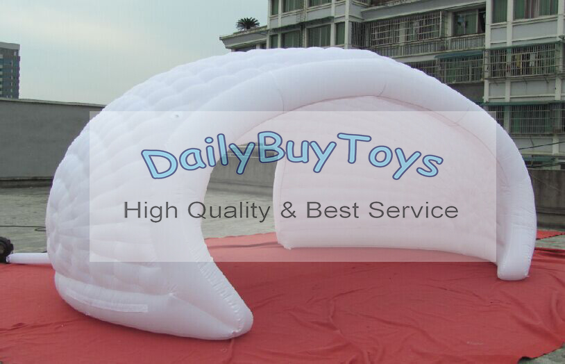 TT26 Hot sell Inflatables Events Tent Party dome Tent wtih door Oxford 6m/20ft + Reapir kits + Free Blower Free Shipping