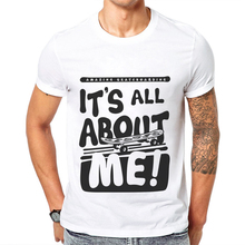Original Funny Letters Printing Men T Shirt Casual Short-Sleeve 100% Cotton Skateboarder Man T-Shirt All About Mens Tee Shirts