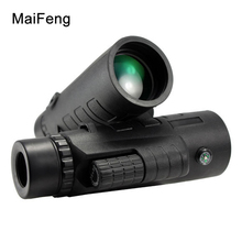 On sale 35X50 Hunting Nitrogen Monocular zoom HD Telescope With Compass Clear Vision Zoom Professional Binoculars For Outdoor Travel