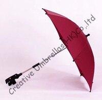 Baby stroller umbrella,kid car umbrella 8mm steel shaft and fiberglass ribs,detachable clamp,Environmental protection,sunscreen