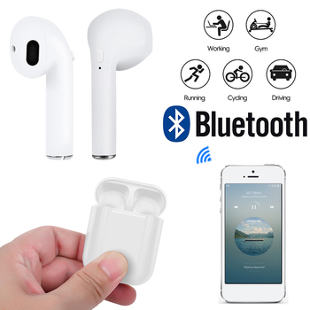 I9S TWS Mini Wireless Bluetooth Earphones Headsets Bass Stereo Earbuds With Charging Box for All Smart Phone