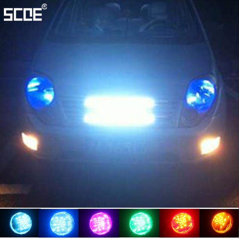 For Nissan Patrol III X Trail(T31) SCOE 2015 New 2X 30SMD Front Fog Bulb Lights Lamp Source Car Styling Super Bright купить