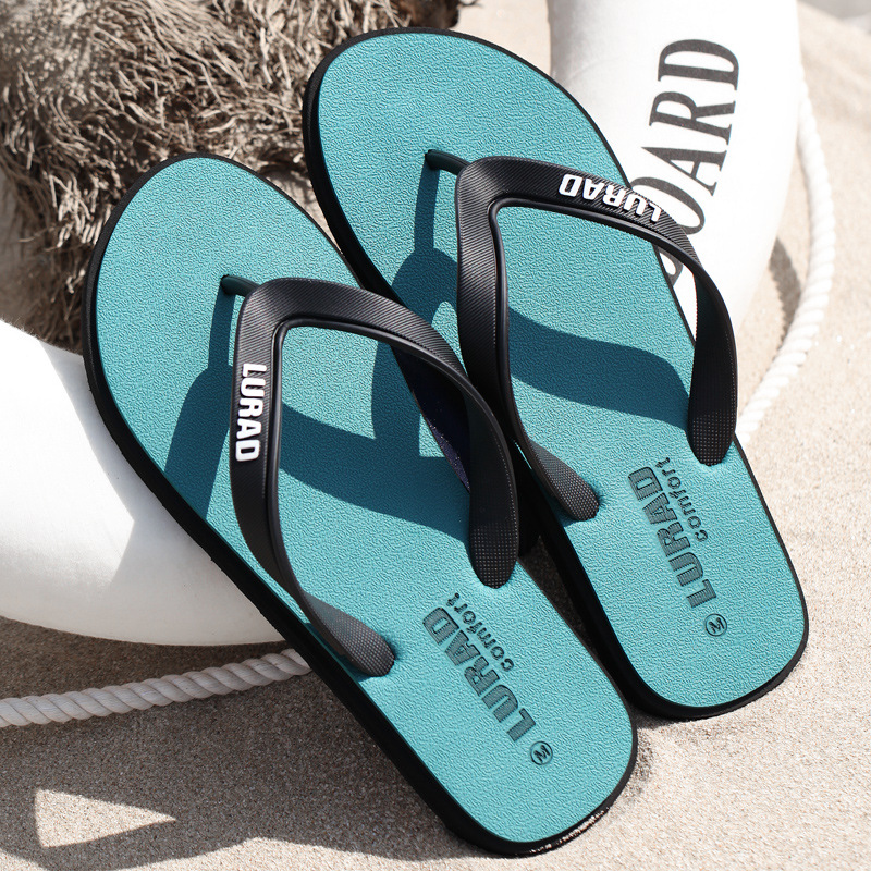 Big Size  Fretwork Casual Flip Flops Men Drag Crust Non-slip Comfortable Beach Male Slippers Outdoor Clip Feet Cool Slippers