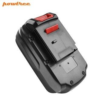 Powtree Für Porter Kabel 18 V 2000 mAh PC18B Wiederaufladbare Power Werkzeuge Batterie Ersatz PC18SS PC18JR PC18JS PC18FL PCC581B