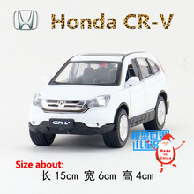 1:32/DieCast Model/Japan Honda CR-V (CRV) SUV/Lighting & Music/Educational Toy Car for children's gift or collection/Pull back