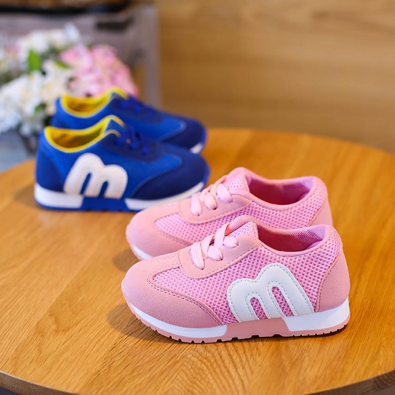 2018 Nowe buty dziecięce Wygodne oddychające siateczki Dziewczyny - Obuwie dziecięce - Zdjęcie 3