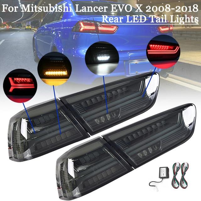 Feu de Stop arrière à LED pour voiture, pour Mitsubishi Lancer EVOx 2008 17