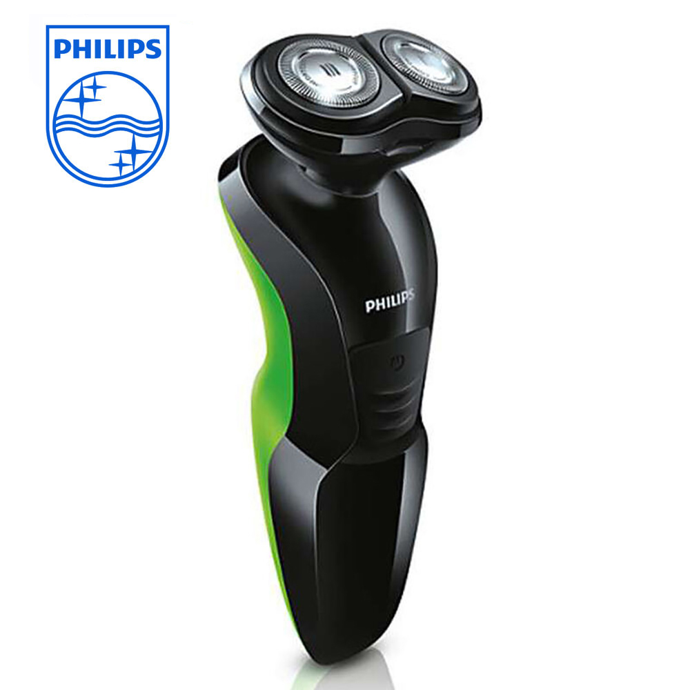 Philips Professional Wet & Dry Shaver for men YQ306 rechargeable razor waterproof double head support body wash Shaving Machine povos pq8608 wet dry power rechargeable men s razor