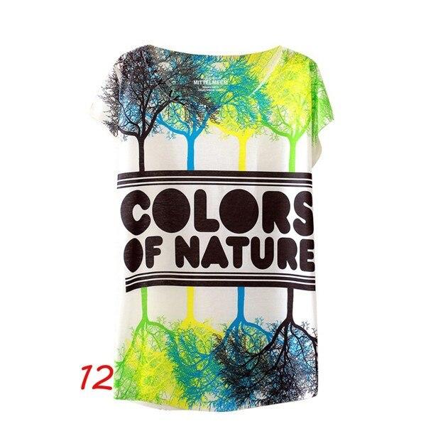 HTB1 ynKNFXXXXcDXpXXq6xXFXXXR - Fashion Summer Animal Cat Print Shirt O-Neck Short Sleeve