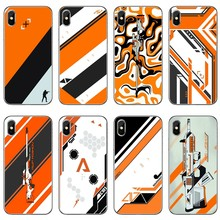 Jogo cs ir arma Asiimov Para o iphone X XR XS Max 8 7 plus 6 6 s plus SE 5S 5c 5 4S 4 iPod Touch Soft case tampa do telefone casos(China)