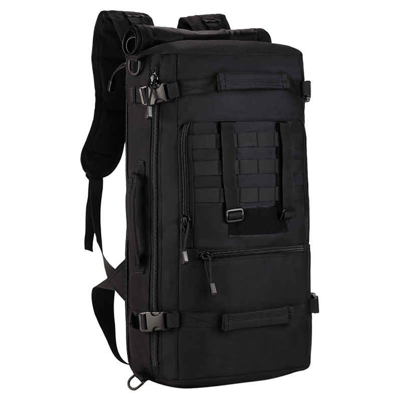 Tactical Military MOLLE Assault Backpack Pack 3 Way Modular Attachments 50L Large Waterproof Bag Rucksack Outdoor Camping Gear jiabai летнее легкое одеяло пуховое одеяло 70