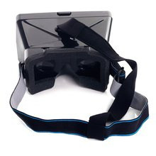 CES Hot Portable 3D VR Glasses with  for Smart Phones Size Up to 5.5 in