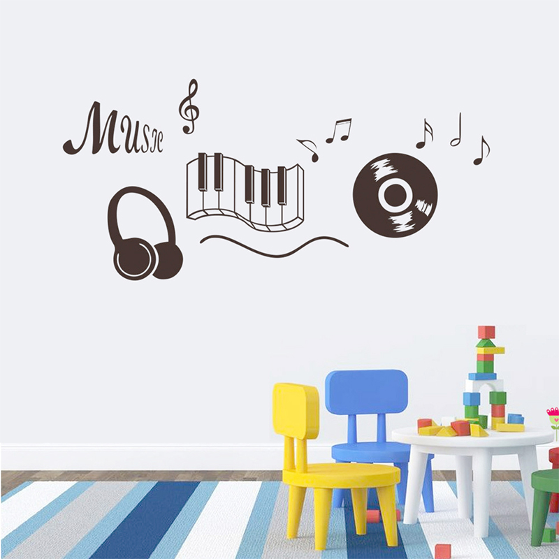 Online get cheap dance wall decals for Cheap wall mural decals