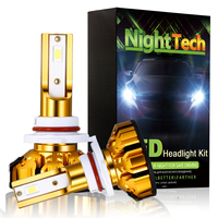 NightTech Super Bright Car Headlight H7 LED H4 Led H11 H1 H3 9005 HB4 9006 Auto