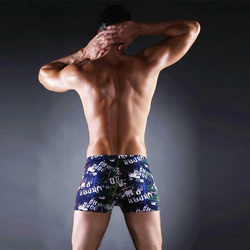 Worldwide Men Favorite 2018 Vintage Prints Male Beachwear Short Beach Swimsuit Hot Plus Size Men Swimwear Trunks L.XL.XXL.XXXL
