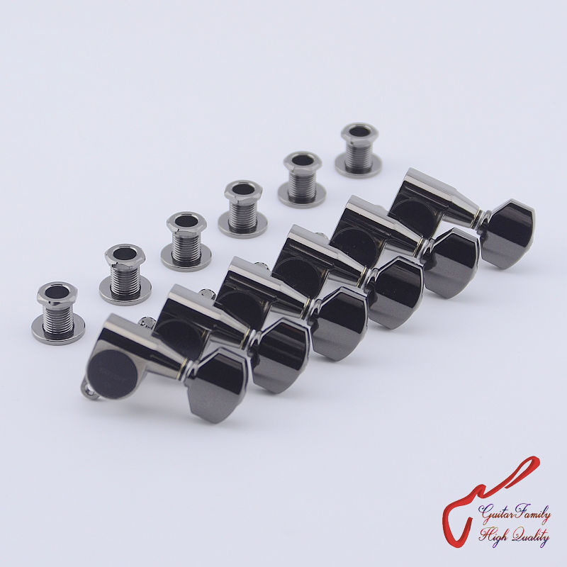 Original Genuine 6 In-line GOTOH SG360-07  Guitar Machine Heads Tuners  ( Cosmo Black ) MADE IN JAPAN new free shipping wholesale 3r3l wj45 vintage tuners machine heads sg es wj 45