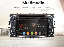 autoradio car radio for ford focus mondeo 2din android car dvd radio cassette recorder TV 3G 4G (option)