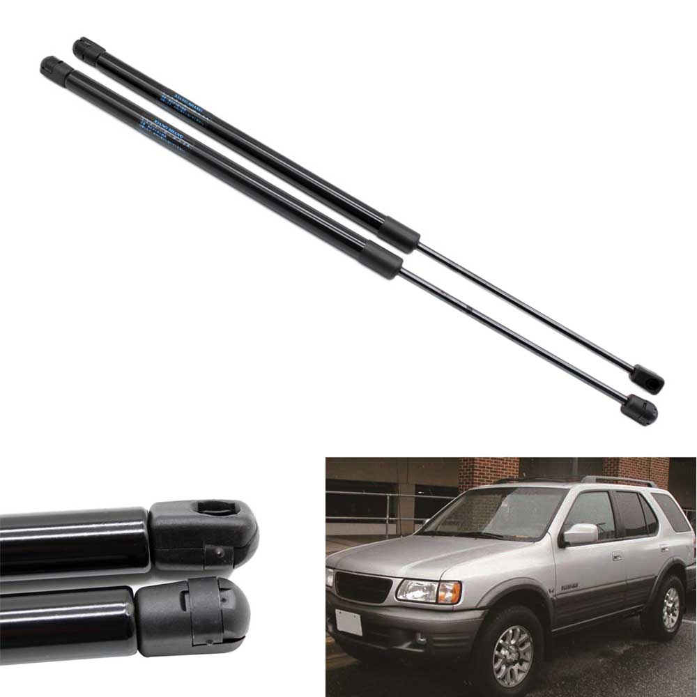 2pcs Truck Rear Window Lift Supports Shocks Car Gas Struts fits for Honda Passport 1991-2004 for Isuzu Amigo Rodeo Wizard 500MM free shipping 2 pcs lot rear trunk gas lift supports sturts car gas springs shocks for vw sedan only volkswagen passat audi a4