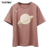 2018 Women T Shirt Summer New Fashion Girl Sweet Style Cotton Tee Short Sleeve Ladies Female
