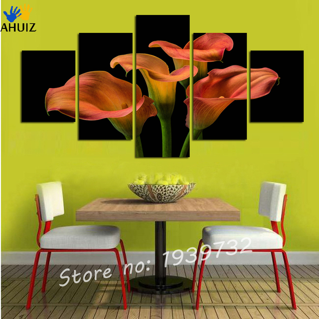 Hot sell Calla Lily paintings Abstract Modern Canvas Wall Art for ...