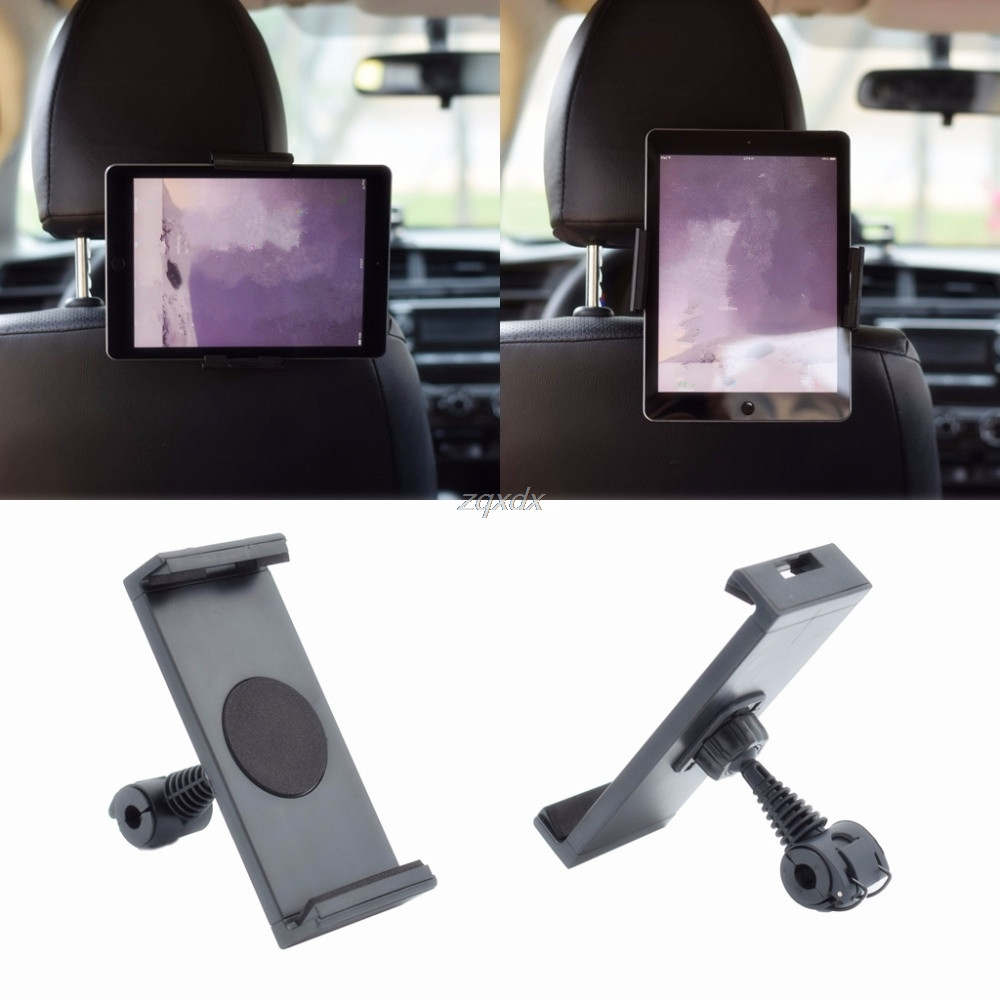 360 Degree Rotating Car Seat Back Headrest Mount Holder Stand For iPhone/iPad GPS For Samsung/LG/Xiaomi/Huawei Tablet Laptop Box