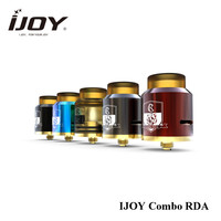 Electronic Cigarette Atomizers IJOY Combo RDA Tank 25mm Bottom Airflow System & Innovative Spring Design Deck COMBO RDA 25mm