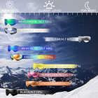 Lunettes de Ski, Sports de neige Snowboard sur lunettes lunettes avec Protection Anti buée UV Double lentille pour hommes femmes et jeunes motoneige - 6