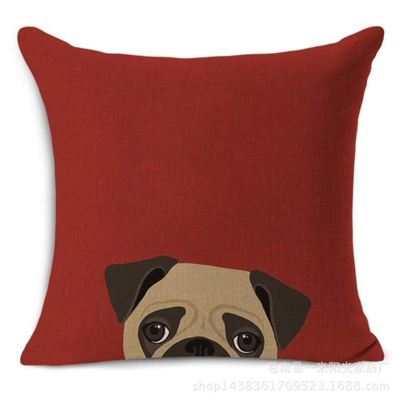 HTB1 yp0MFXXXXcLXFXXq6xXFXXXT - Pug Pillow Cover