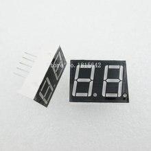 5 шт./лот 2 бит 2bit Цифровой пробки Общий анод положительный цифровой трубы 0.56 «0.56in. Красный светодиод Дисплей значный 7-сегментный